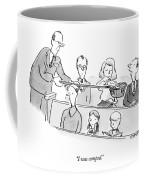 I Was Comped Coffee Mug