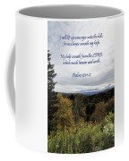 I Will Lift Up My Eyes Coffee Mug