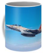 Iaf Fighter Jet F-15i In Flight Coffee Mug
