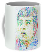 Ian Curtis Portrait Coffee Mug