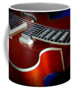 Ibanez Af75 Hollowbody Electric Guitar Cutaway Detail Coffee Mug