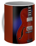 Ibanez Af75 Hollowbody Electric Guitar Front View Coffee Mug