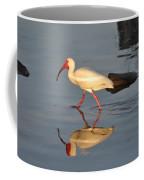 Ibis In Reflection Coffee Mug