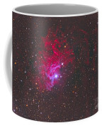 Ic 405, The Flaming Star Nebula Coffee Mug