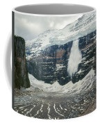 1m3545-01-ice Avalanche On Mt. Victoria Coffee Mug