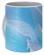 Ice Blue Amaryllis Abstract Coffee Mug