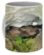 Ice Cave At The Mountains Coffee Mug