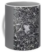1m9343-ice Crystals On Black Ice, Tetons Coffee Mug