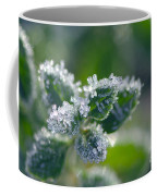 Ice Crystals With Stars Coffee Mug