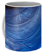 Ice Curve In Blue Coffee Mug