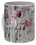 Ice Fence Coffee Mug