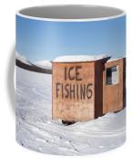 Ice Fishing Hut Coffee Mug
