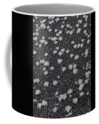 1m9335-ice Flowers On Black Ice Coffee Mug