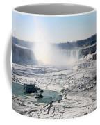 Ice Flows At Niagara Coffee Mug