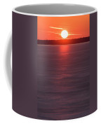 Ice Glow Sunset Seaside New Jersey Coffee Mug