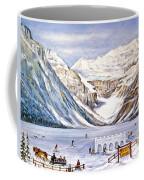 Ice Magic-lake Louise Winter Festival Coffee Mug