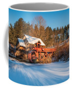 Ice On The Pond Coffee Mug