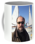 Ice Sailing On The Hudson Beard Contest Coffee Mug