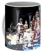 Ice Sculptured Nativity Scene Posterized Coffee Mug