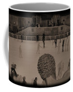 Ice Skating At Rockefeller Center In The Early Days Coffee Mug