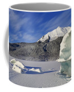 Iceberg And Mount Mcginnis Coffee Mug