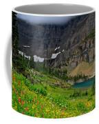 Iceberg Park Tarn Glacier National Park Montana Coffee Mug