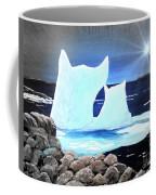 Icebergs At Sunset Coffee Mug