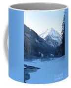 Iceblue Snow Coffee Mug