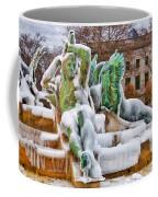 Iced Swann Fountain Coffee Mug