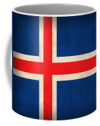 Iceland Flag Vintage Distressed Finish Coffee Mug by Design Turnpike