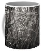 Iceland Mist Black And White Coffee Mug
