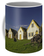 Icelandic Turf Houses Coffee Mug