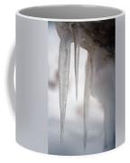 Icicles 2 Coffee Mug