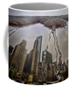 Icicles On Chicago's Bean Coffee Mug