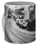 Iconic Lisbon Streetcar No. 28 V Coffee Mug