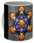Icosahedron In A Metatron's Cube Coffee Mug
