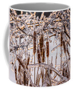 Icy Cattails Coffee Mug