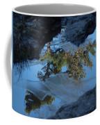 Icy Evergreen Reflection Coffee Mug