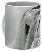Icy Plunge At Niagara Falls Coffee Mug