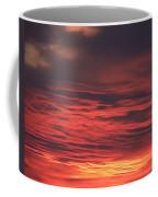 Icy Red Sky Coffee Mug