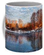 Icy Reflections At Sunrise - Lake Ontario Impressions Coffee Mug