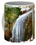 Icy Waterfall  Coffee Mug