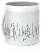 I'd Hate To Land Here On A Foggy Day Coffee Mug