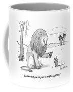 I'd Like To Help Coffee Mug
