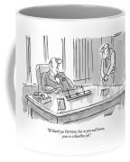 I'd Thank You Harrison Coffee Mug