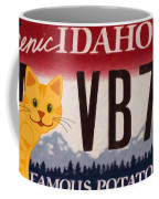 Idaho License Plate Coffee Mug