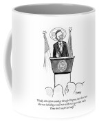 Ideally This Reform Would Go Through Congress Coffee Mug