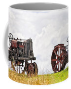Idle Fordson Tractor On The Hill Coffee Mug
