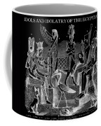 Idols  Of Egypt Coffee Mug