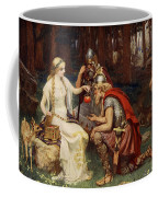 Idun And The Apples, Illustration Coffee Mug